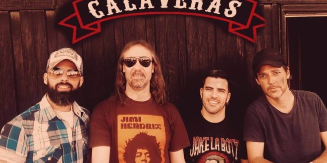 'Calaveras': El rock and roll por bandera