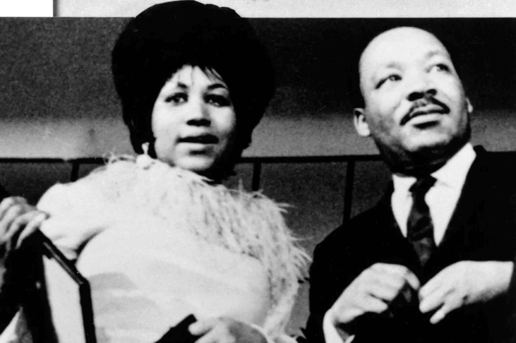 retha con Martin Luther King